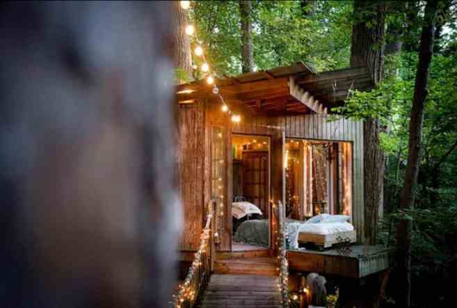 Treehouse in the US - airbnb treehouse in Atlanta-026