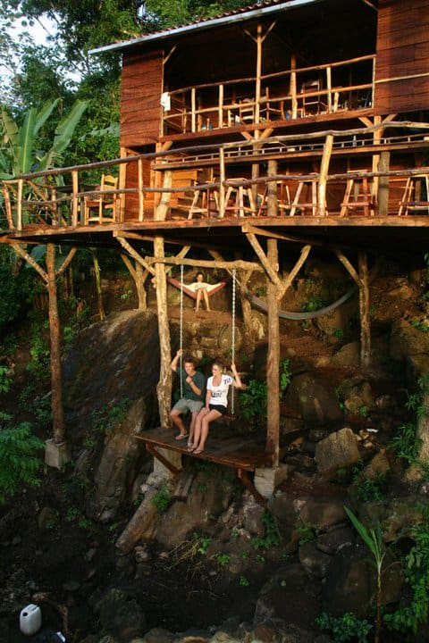 treehouse in nicaragua the poste rojo treehouse