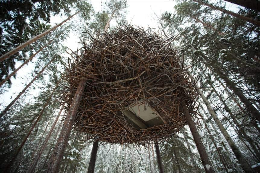 Diy Giant Garden Art Bird Nest Empress Of Dirt