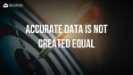 understanding data accuracy