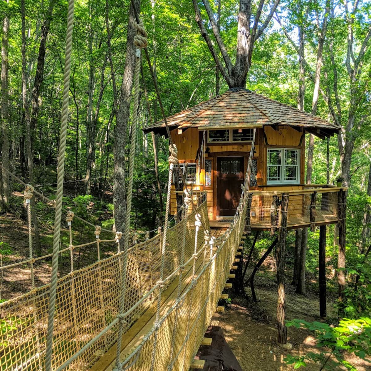 Stamish Castle at Treehouse Mountain!