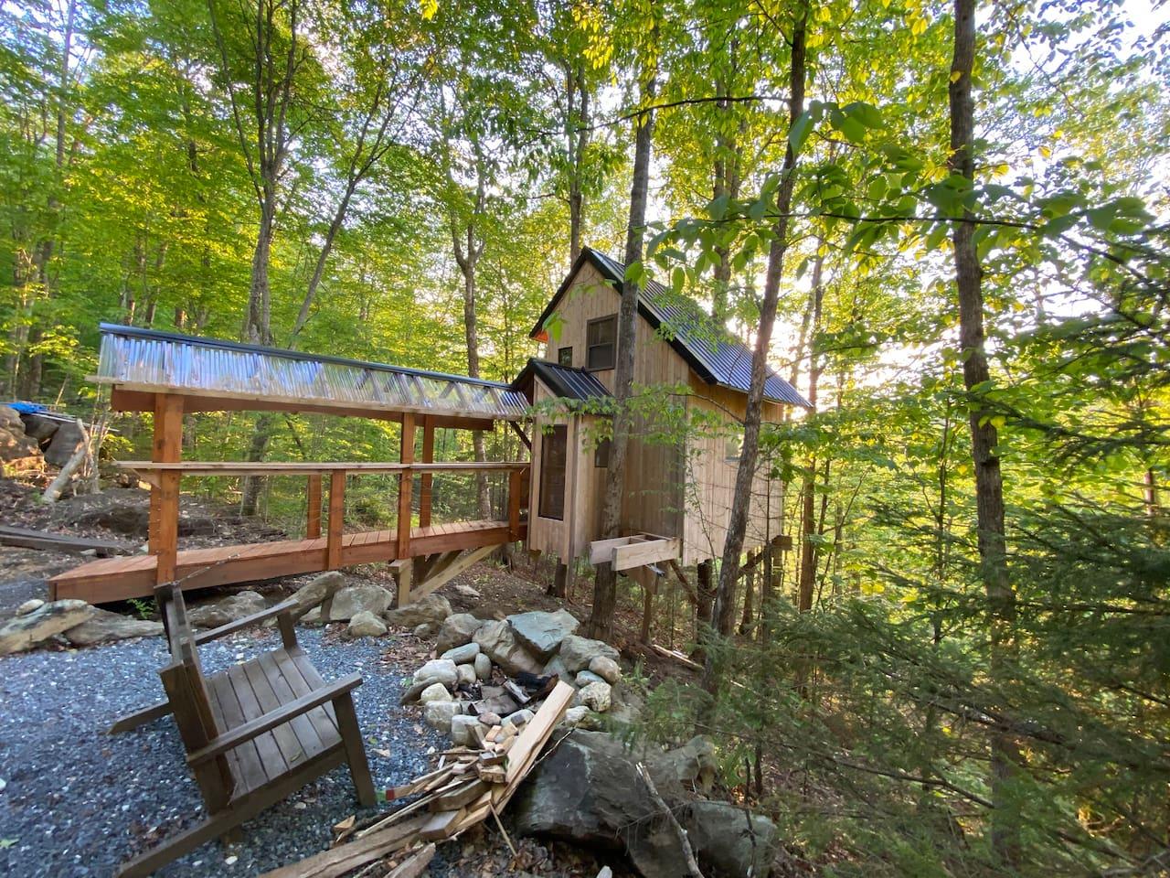 The Sugar Maple Treehouse @ Vermont ReTREEt