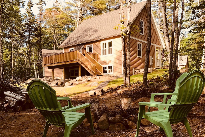 Luxury Cabin in Maine