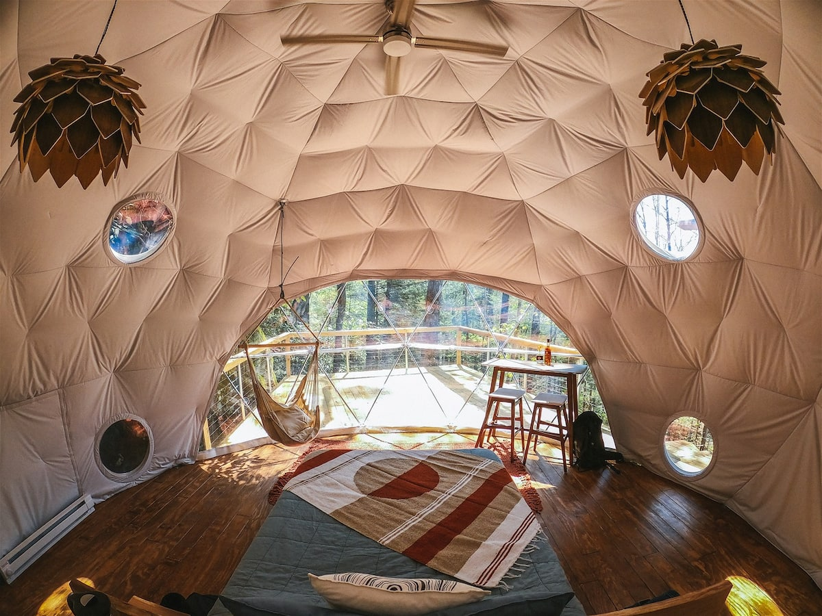 Puma Dome - Treehouses in Kentucky