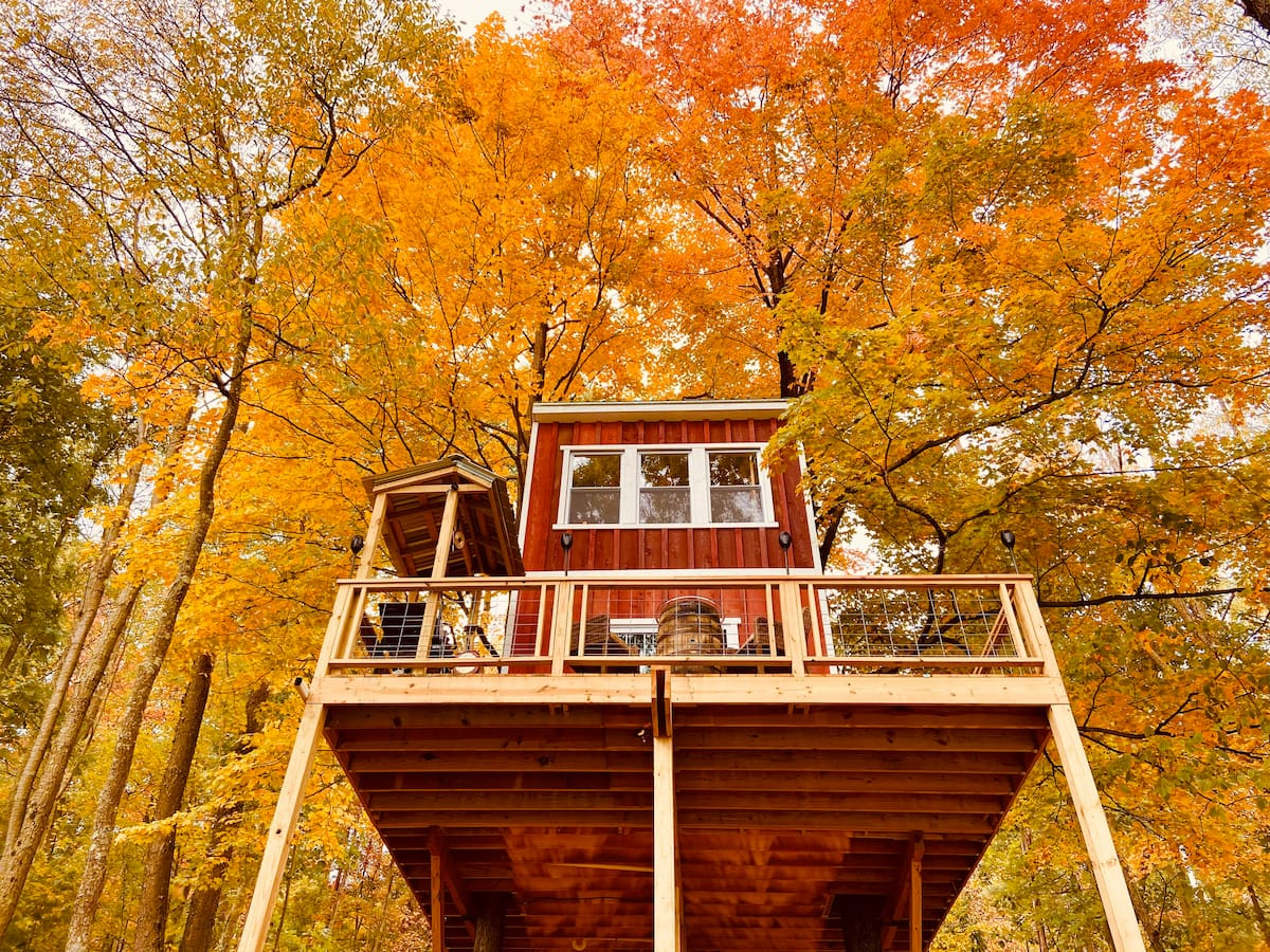 Secluded Magical Treehouse in Pennsylvania