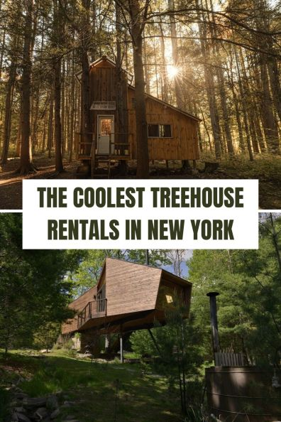 Coolest Treehouse Rentals in New YorkCoolest Treehouse Rentals in New York