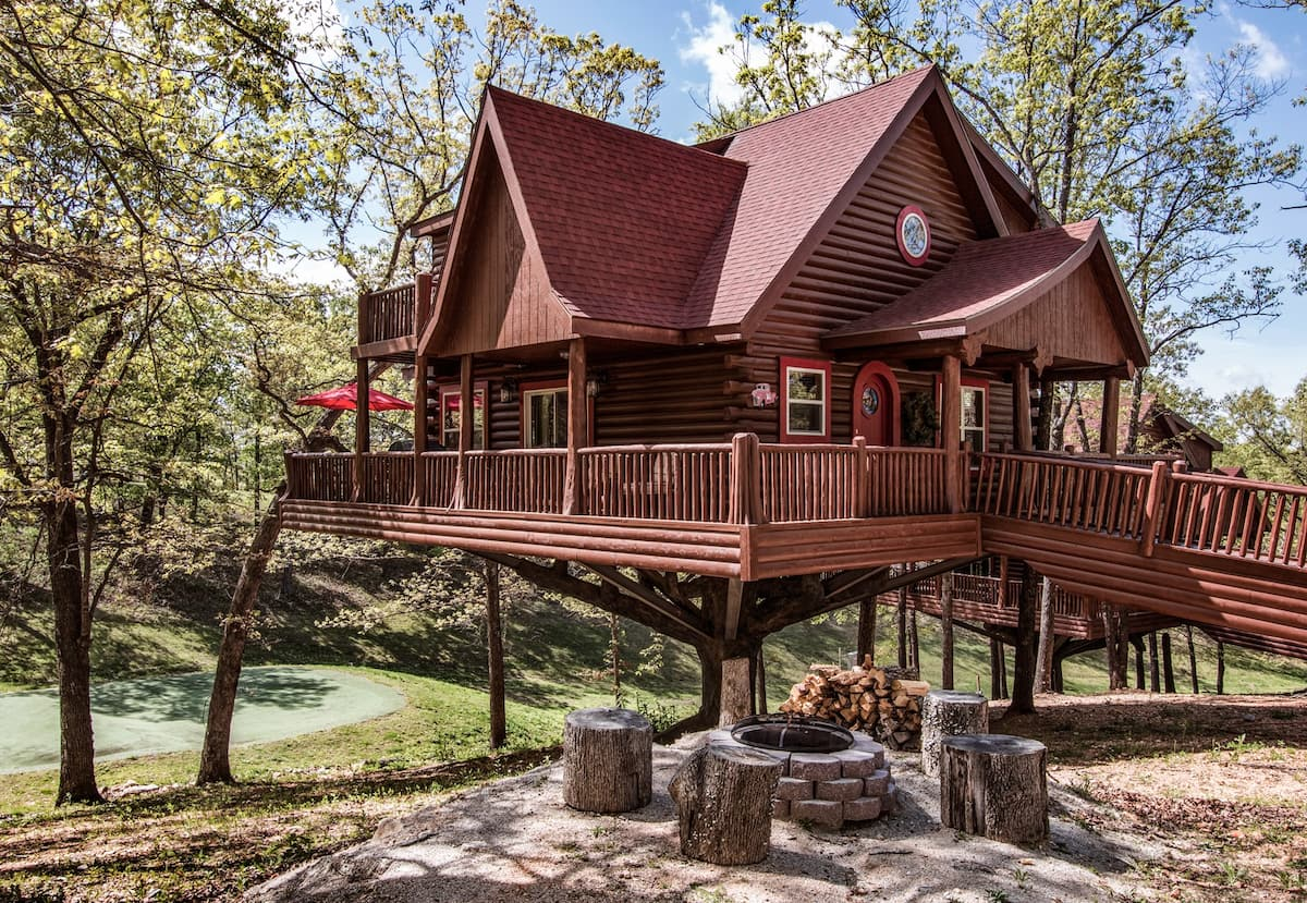 Luxury Treehouse Kentucky Airbnb