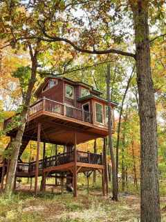 Spring Lake Ranch Tree House #1 - High Hope Airbnb