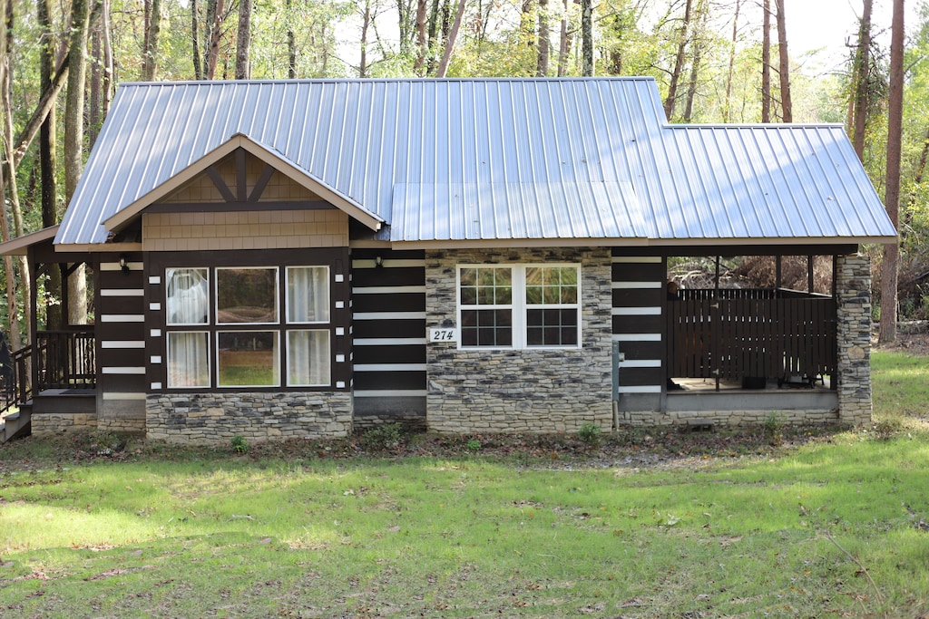 """""""Sweet Dreams"""" - Brand New Cabin Near Mentone and Desoto State Park"""