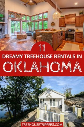 Coolest Treehouse Rentals in Oklahoma
