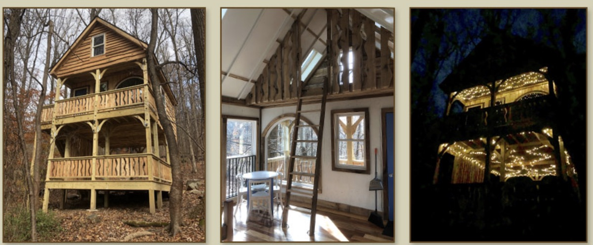 Firefly Treehouse Rental in Maryland