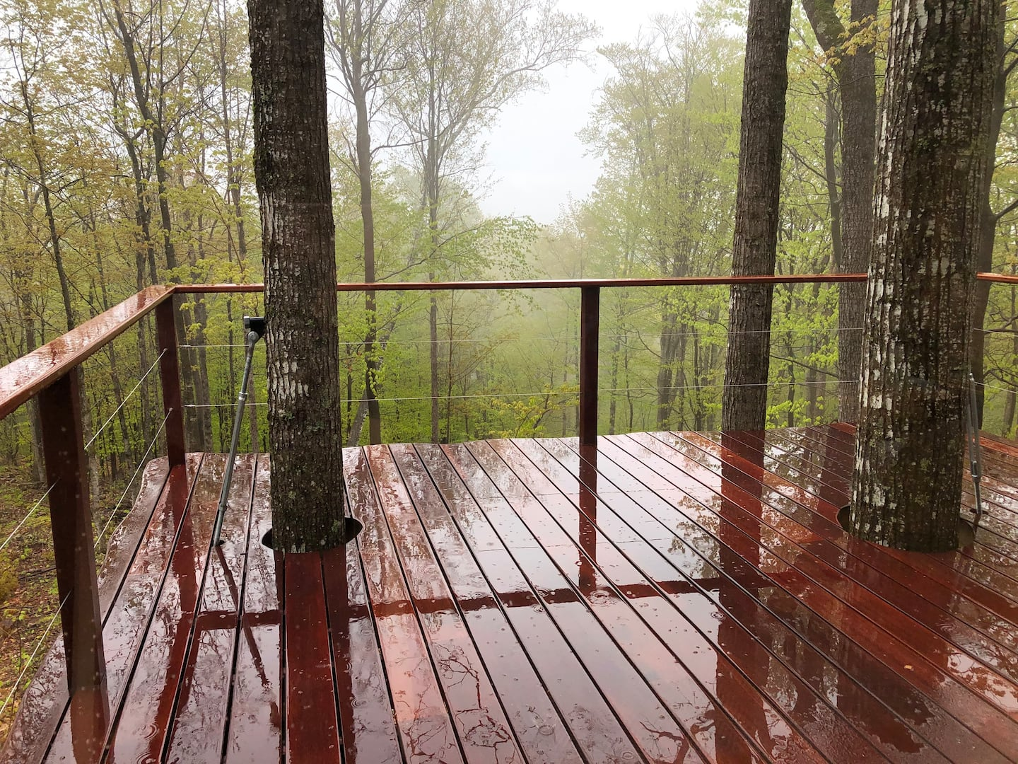 Ling Treehouse Rental New Hampshire