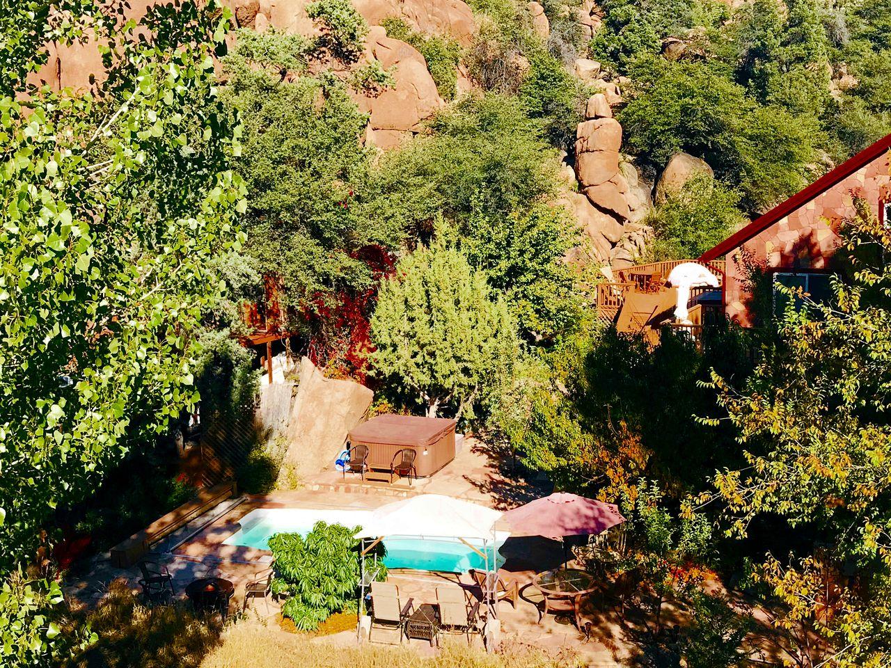 Rejuvenating Tree House Getaway with Pool Access in Prescott, Arizona