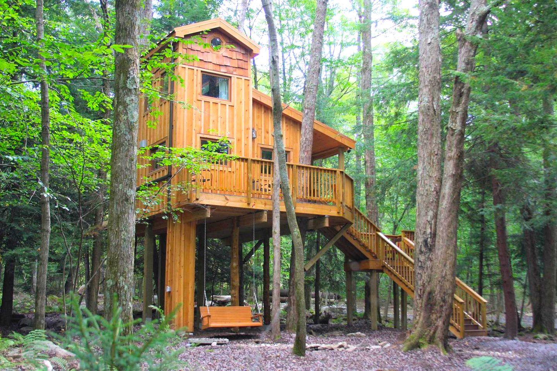 The Eagle's Nest Treehouse Maryland