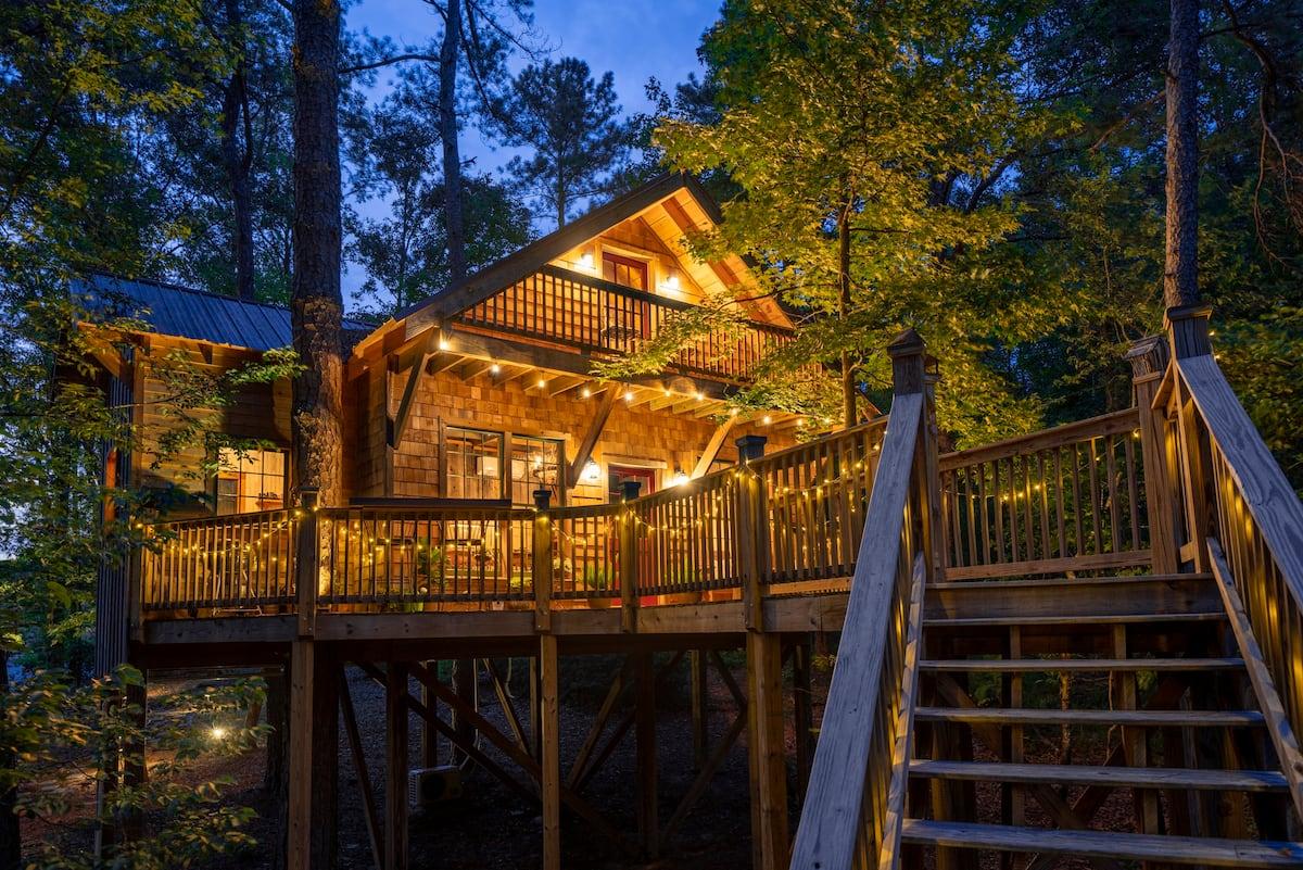 Trinity Treehouse Georgia Airbnb Rental