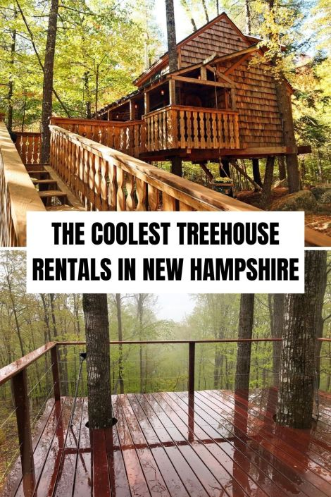 coolest treehouse rentals new hampshire