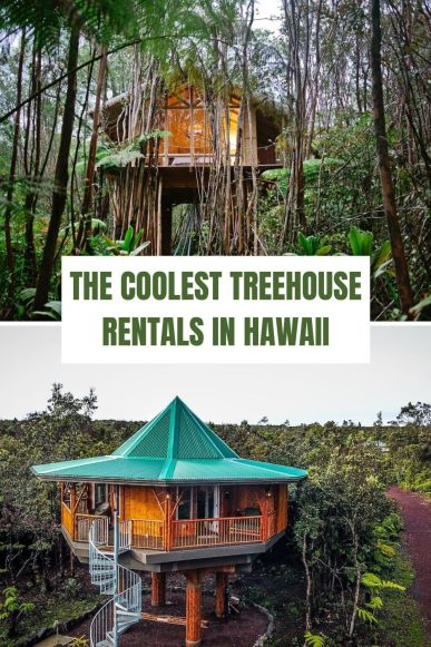 Coolest Treehouse Rentals in Hawaii