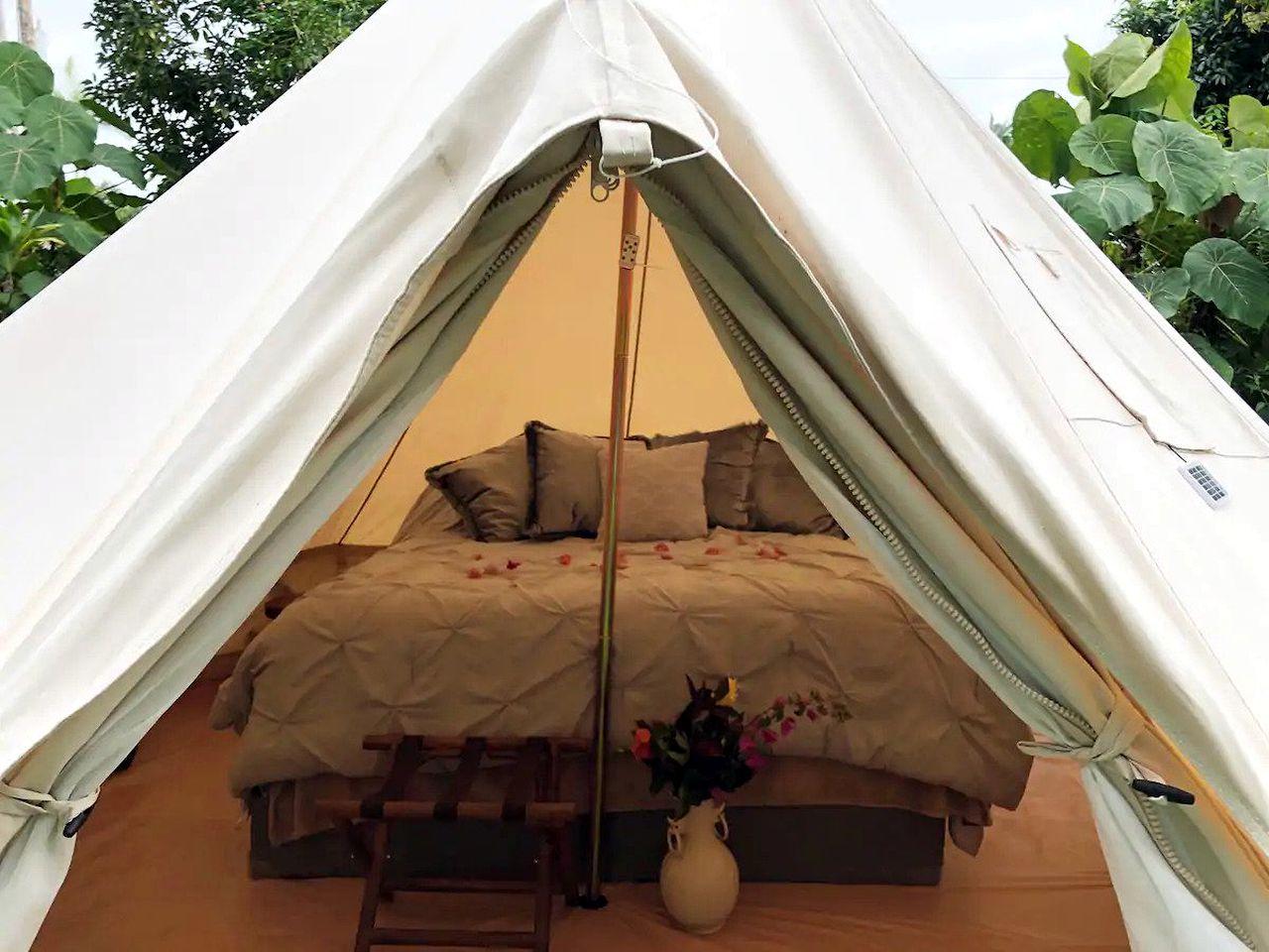 Glamping Tent Hawaii