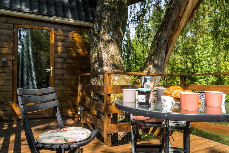 France Treehosue Rental AirbnbFrance Treehosue Rental Airbnb