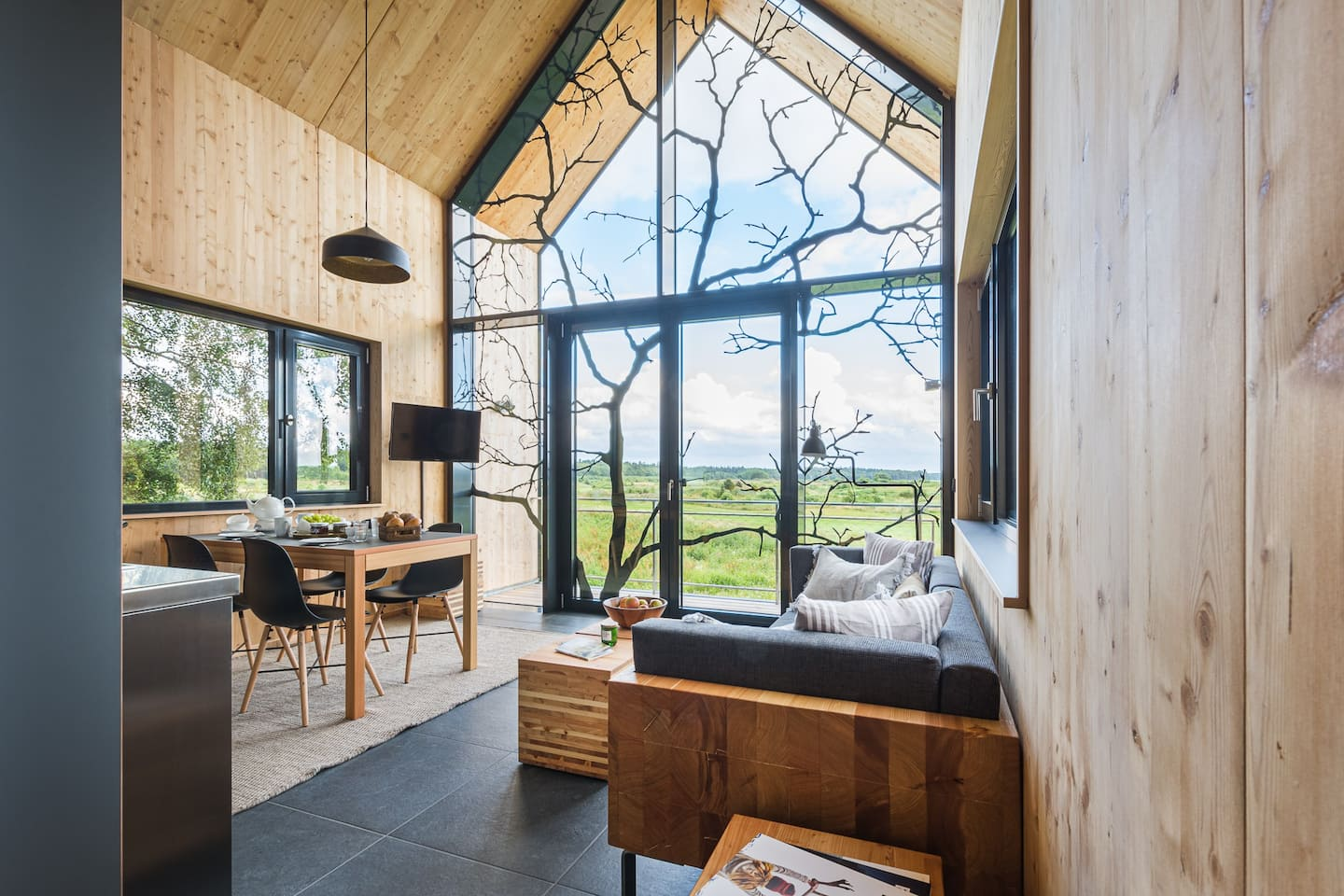 Treehouse Rentals in Germany A frame