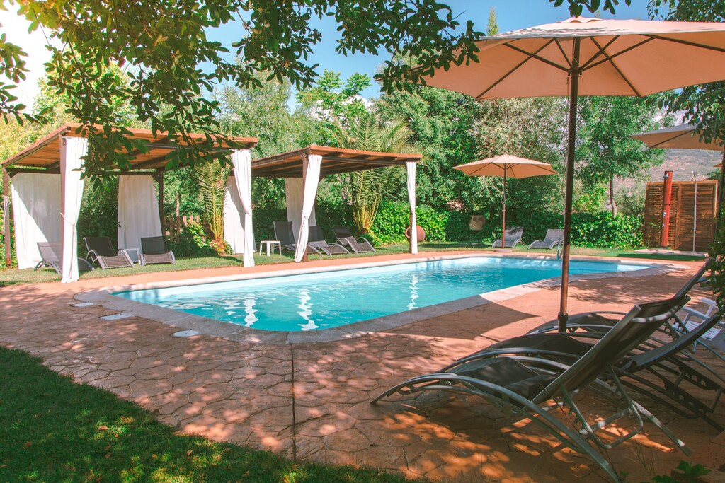 Treehouse Rentals in Spain with pool access