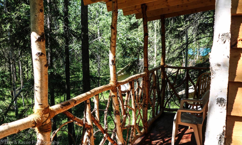 Treehouse in Alaska