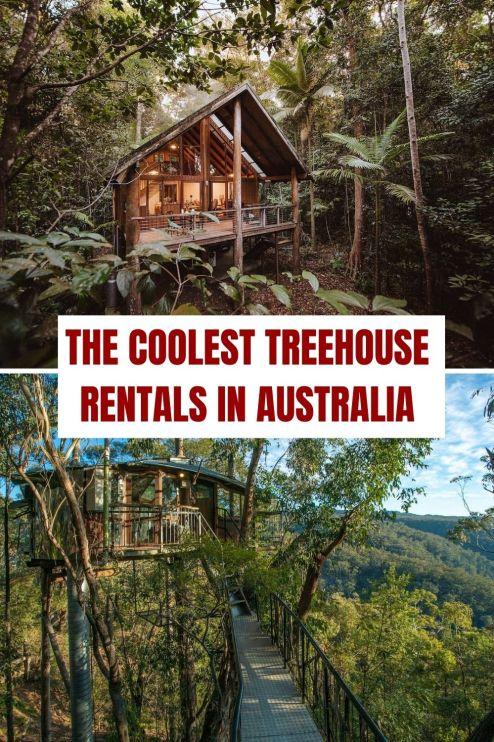 Coolest Treehouse Rentals in Australia - pinterest
