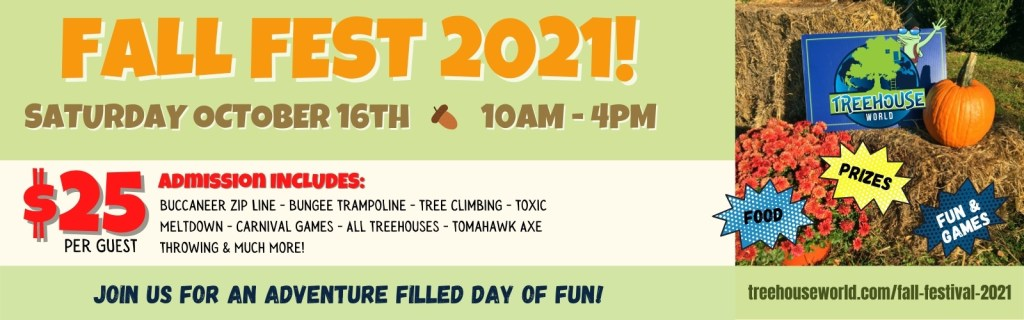 Treehouse World Fall Fest 2021