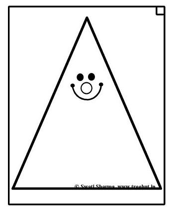 triangle worksheet Colouring Pages