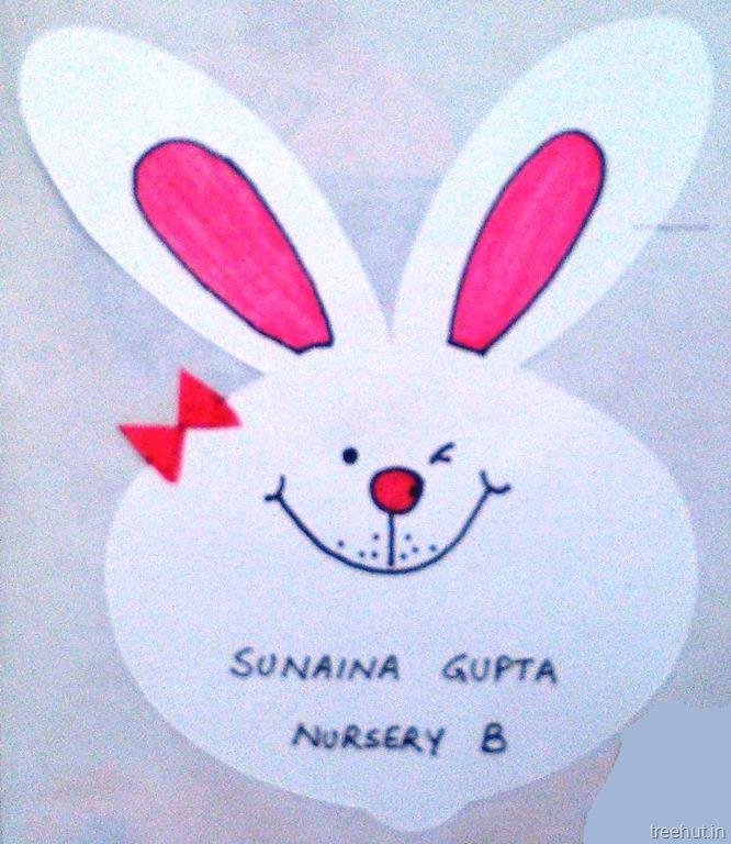 Cute Rabbit Wallpaper Cute Animal Name Tags For Kids