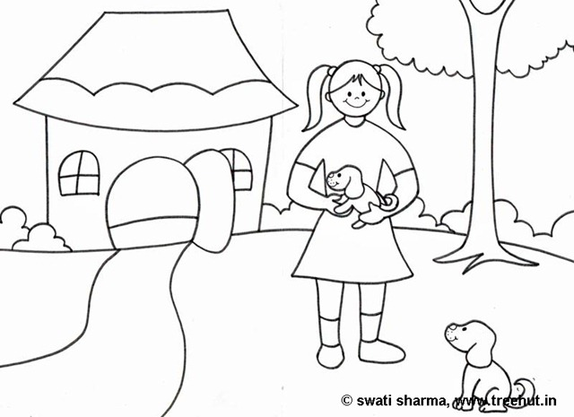 I Love Animals Coloring Pages