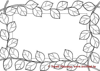 Frames Coloring Pages