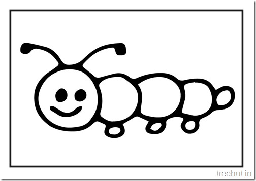 Cute Christmas Bunny Wallpaper Cute Caterpillar Coloring Pages
