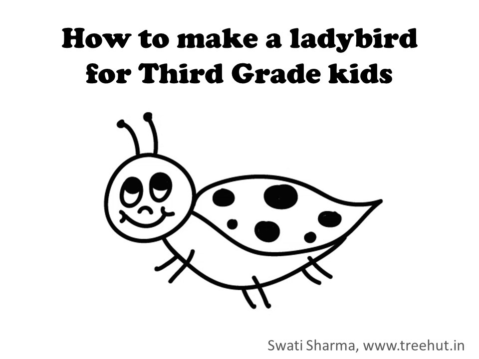Learn to make a ladybird in 1 minute with video instructions