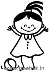 Girl Holding Teddy Bear Wallpapers Stick Figures Kids Clipart