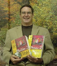 Eric Armstrong with books
