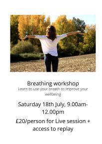 Breathing workshop