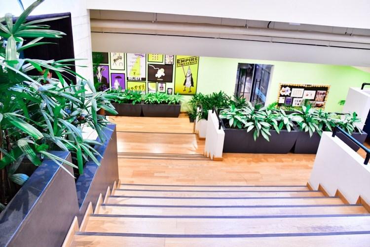 Interior plantsacping
