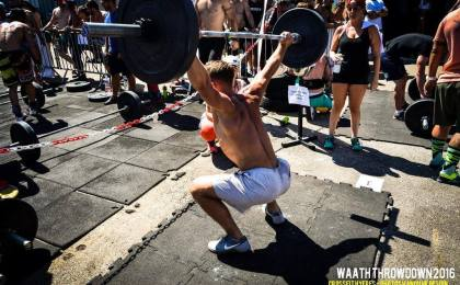 Treeninglife - article 5 sport - crossfit overhead squat jordan levrat musculation vegan