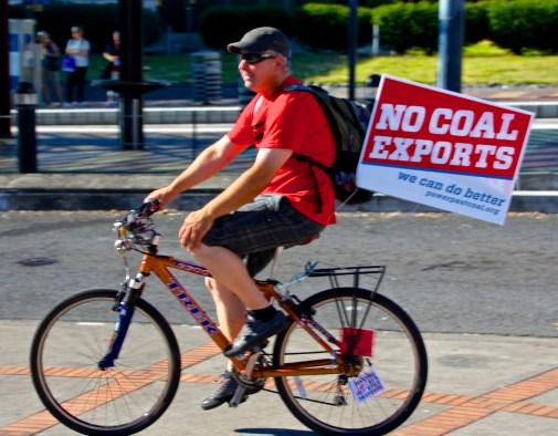 Bike against Coal