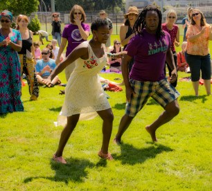 Dancing with Nhapitapi