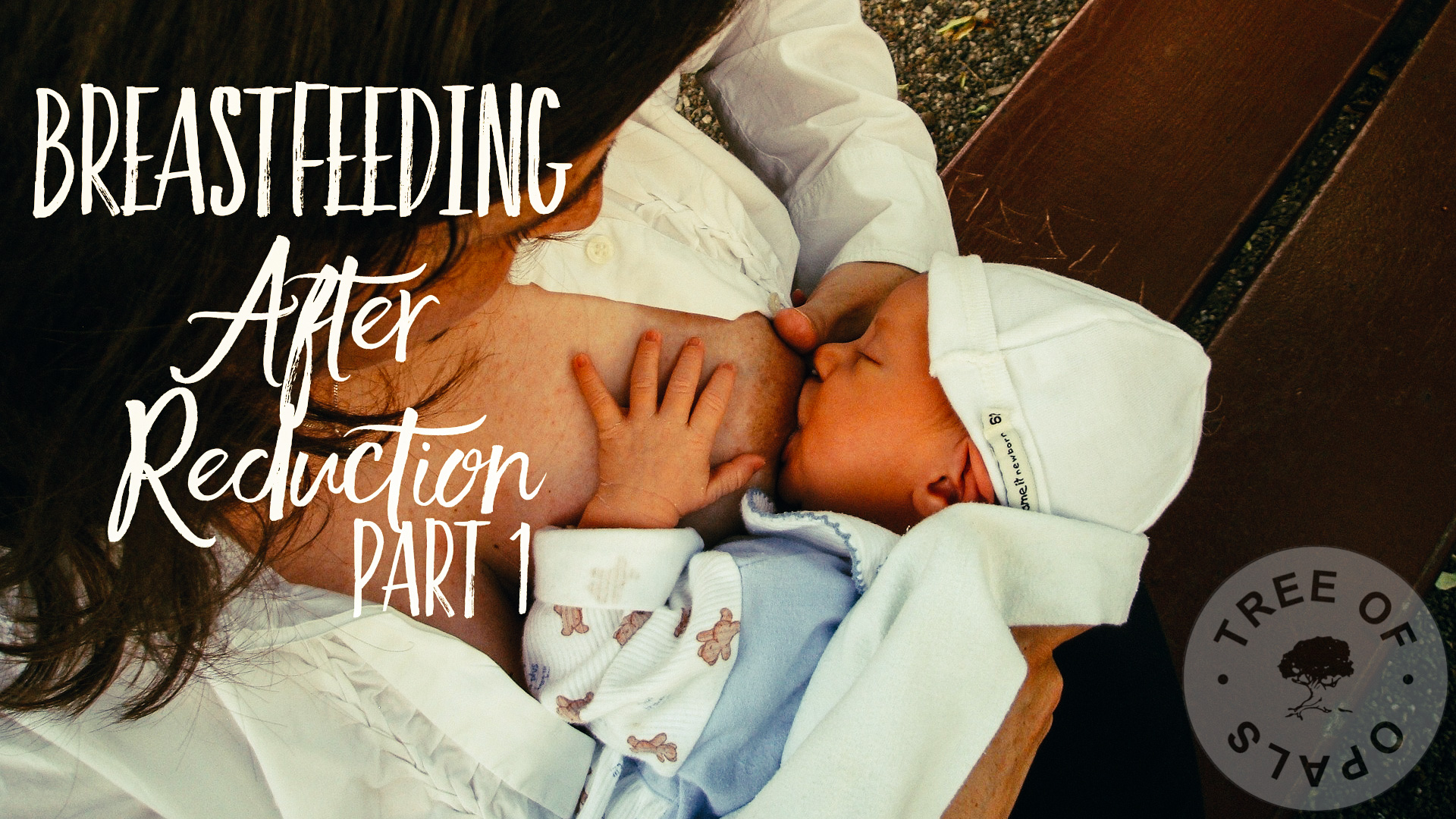 Breastfeeding after reduction story by Nic Kamminga at Tree of Opals