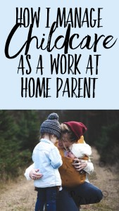 How I manage childcare as a work at home parent blog by Nikki Kamminga on Tree of Opals Pinterest