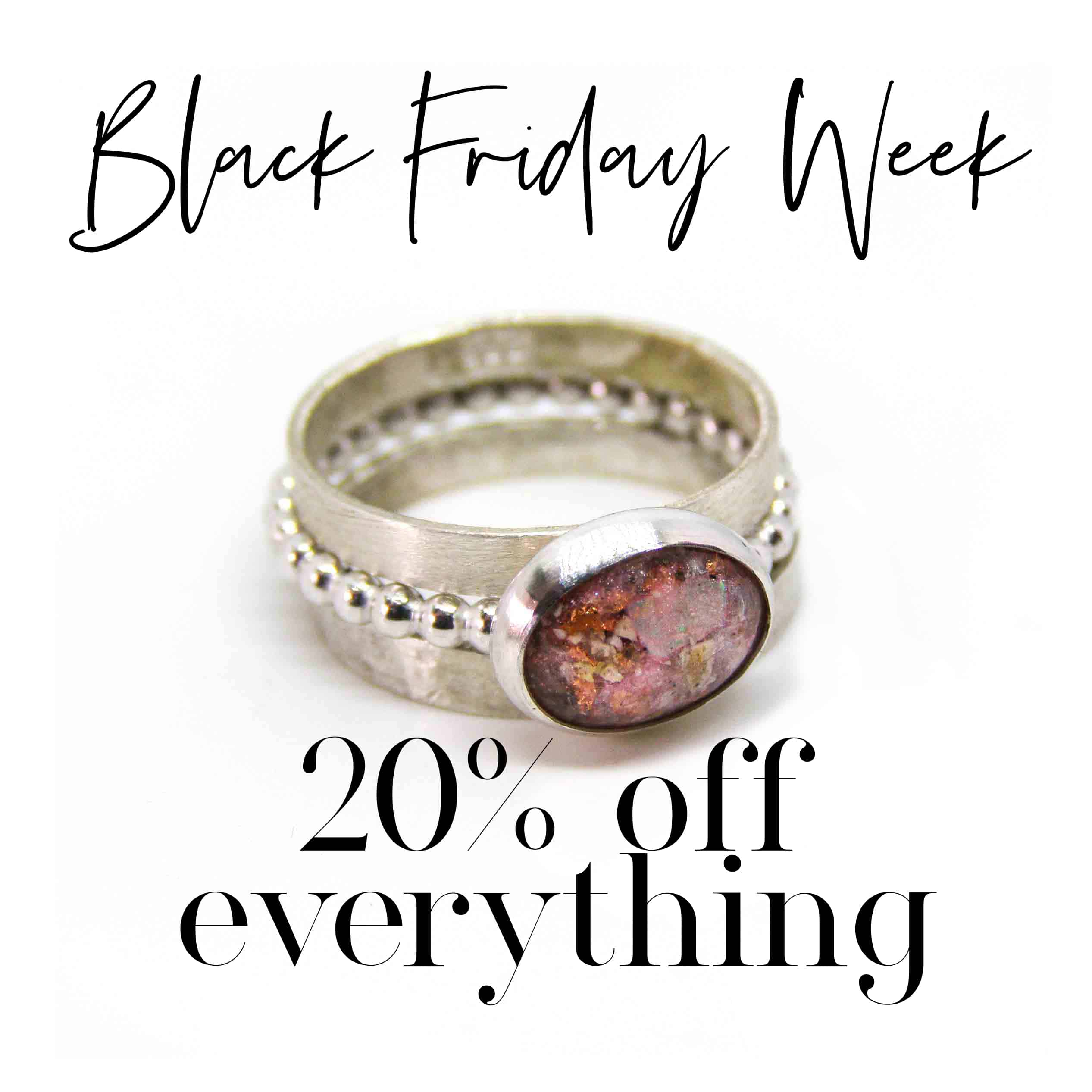 Black Friday 2019 20% off everything