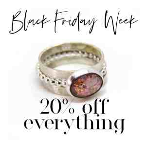 Black Friday Week 20% off everything