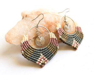 Bohemian Hoop Earrings