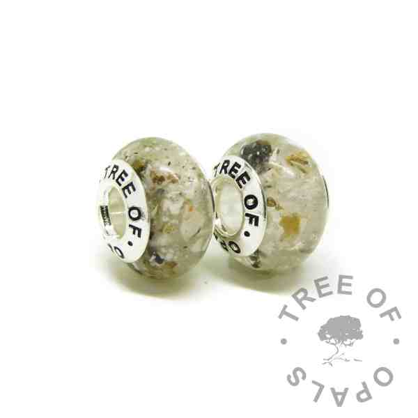 classic ashes charm duo with Tree of Opals core