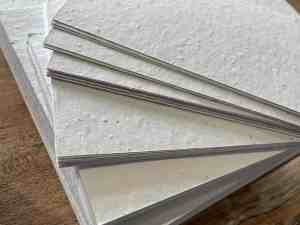 Seeded plantable paper A4, A5, A6. Eco friendly. Zero waste from BotanicQuartz