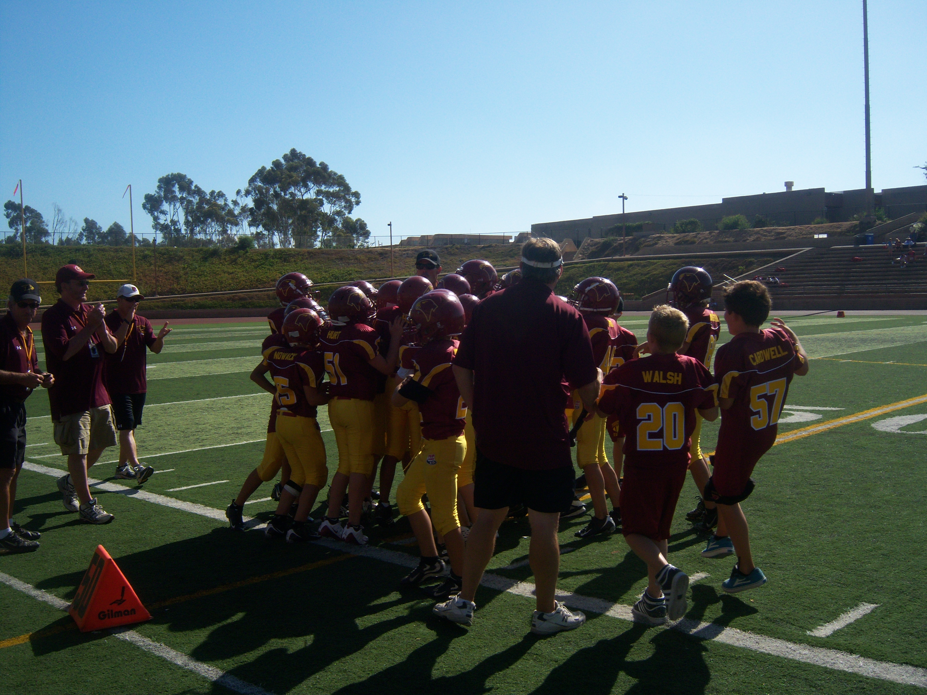 Coach fires them up!
