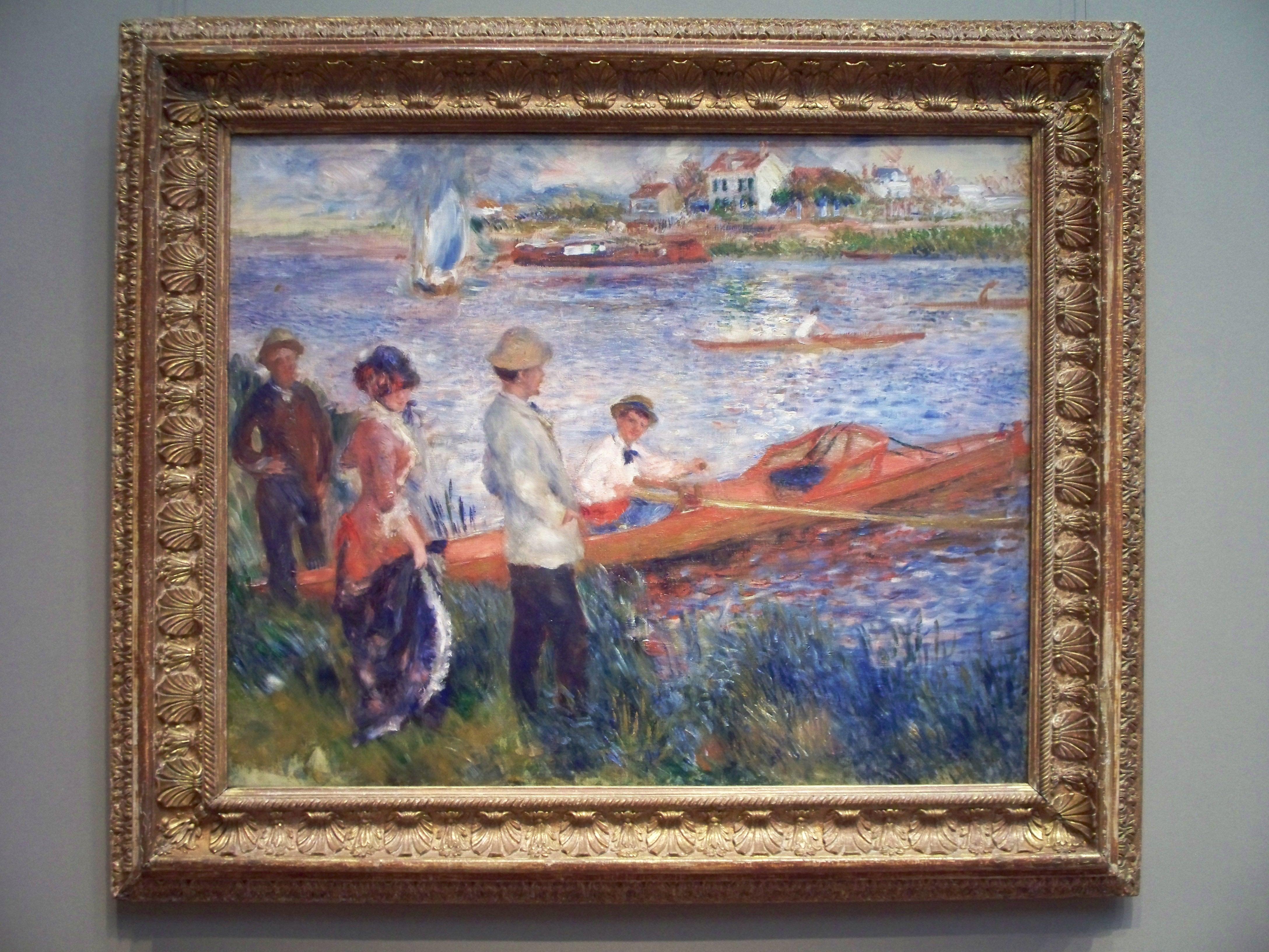 Oarsmen at Chatou, Auguste Renoir